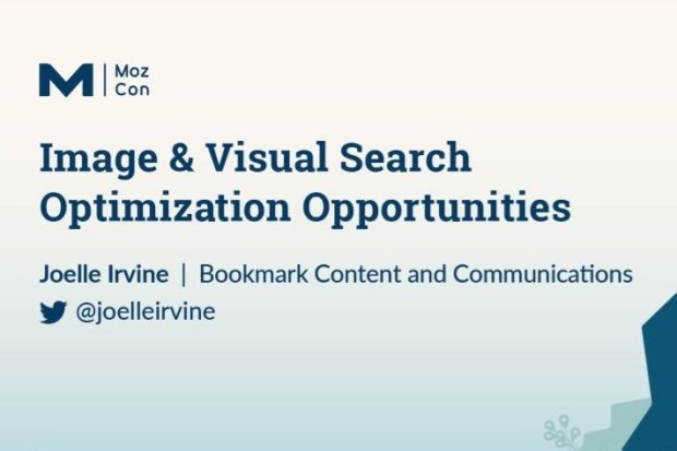 Joelle Irvine Visual Search presentation at MozCon