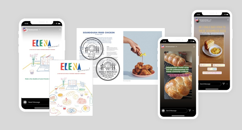 Elena Restaurant publishes cookbooks to support charitable cause